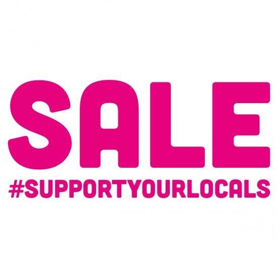 SALE #supportyourlocals
