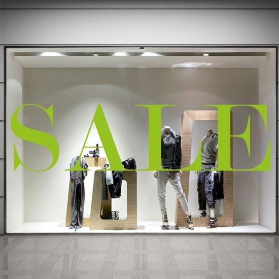 SALE Schrift für exklusive Boutiquen
